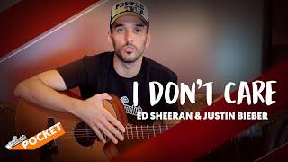 Baixar I DON'T CARE - Ed Sheeran & Justin Bieber | Cifra Club Pocket
