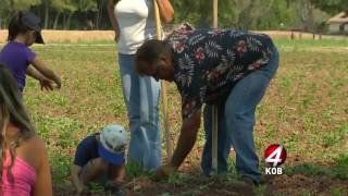 Farmer's Daughters: Volunteering at the Rio Grande Farm