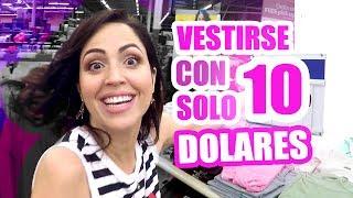 Look Completo con SOLO 10 dolares en USA se Puede? RETO SandraCiresArt