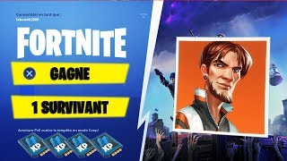 🔴LIVE GAGNE 1 SURVIVANT LEGEND FORTNITE SAUVER THE WORLD PS4 1080p FR