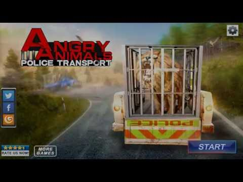 Angry Animals Police Transport (Android/iOS) Gameplay HD