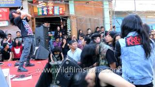Head-banging Rock concert - Yaoshang festival, Manipur