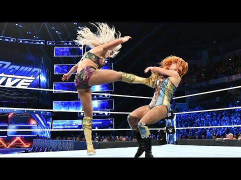 WWE Wal3ooha: معركة قوية بين شارلوت فلير وبيكي لينش على لقب سماكداون