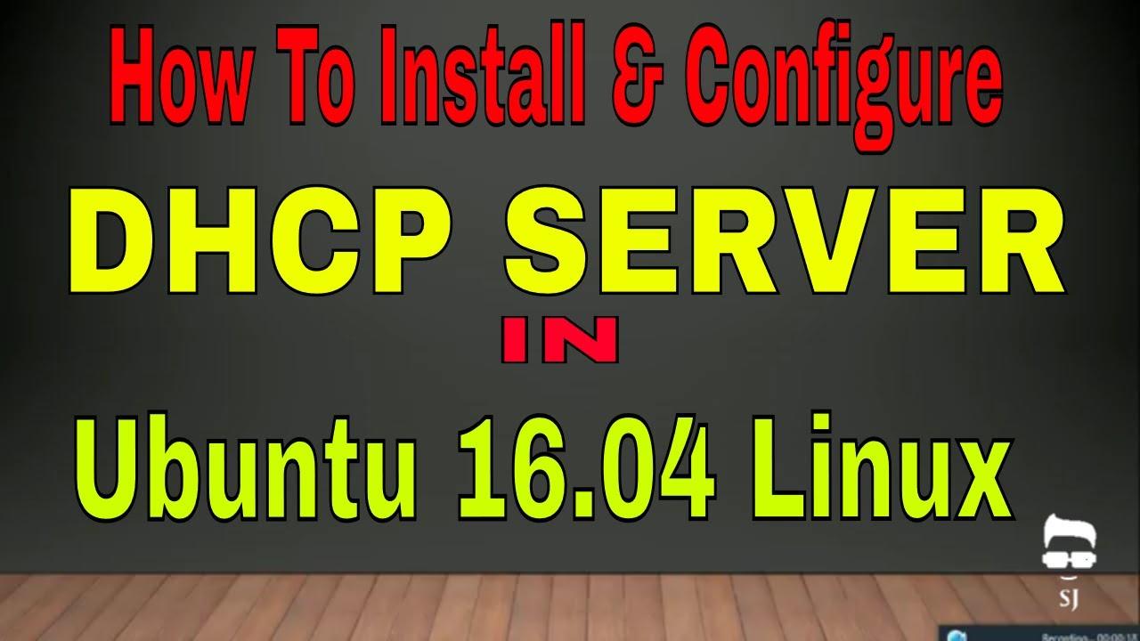 dhcp server ubuntu