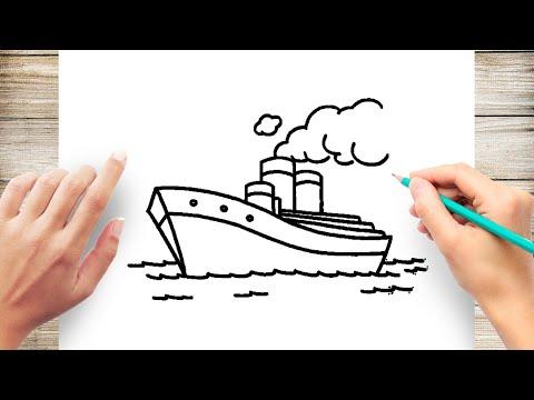 Вопрос: Как нарисовать корабль?