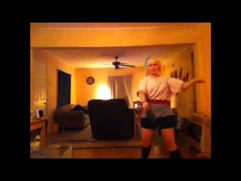 Taichi saotome inspired dance