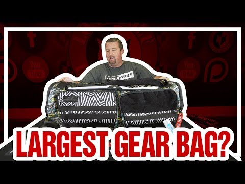 HK Army Expand 75L - Roller Gear Bag - Retro | Paintball Gear Review | Lone Wolf Paintball Michigan