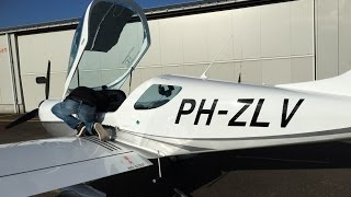 Czech Sport PS-28 Cruiser Flying with Maarten Dobber at EHEH