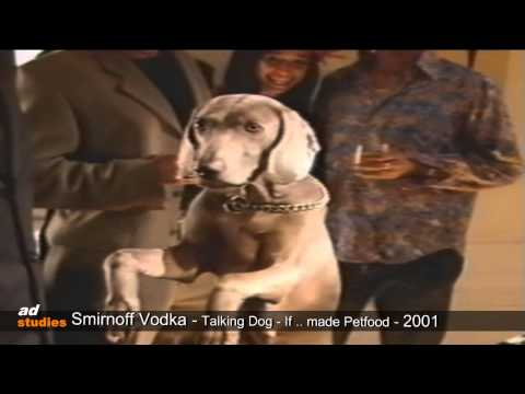 Smirnoff Vodka - Talking Dog - plays piano
