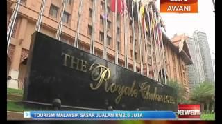 Tourism Malaysia sasar jualam RM2.5 juta