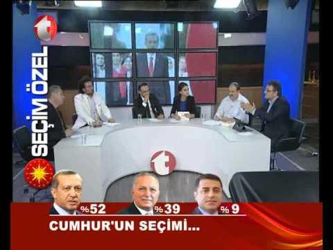 Kanal t Cumhurbaşkanı Seçim Özel 2014 Temiz Toplumun Tercihi Kanal t