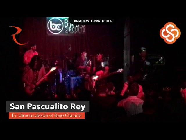 San Pascualito Rey en concierto