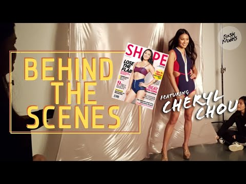 Cheryl Chou | Cover shoot for Shape Magazine Dec 2017 | Basic Models