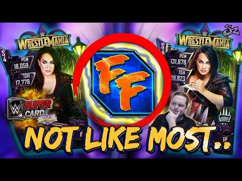 NOT LIKE MOST CARDS! NEW FUSION FURY 2 & HEROIC NIA JAX!   WWE SuperCard S4