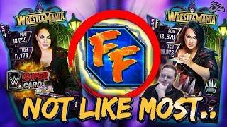 NOT LIKE MOST CARDS! NEW FUSION FURY 2 & HEROIC NIA JAX! | WWE SuperCard S4