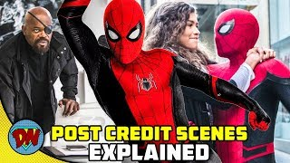 Spider-Man: Far From Home Post Credit Scenes | Explained in Hindi