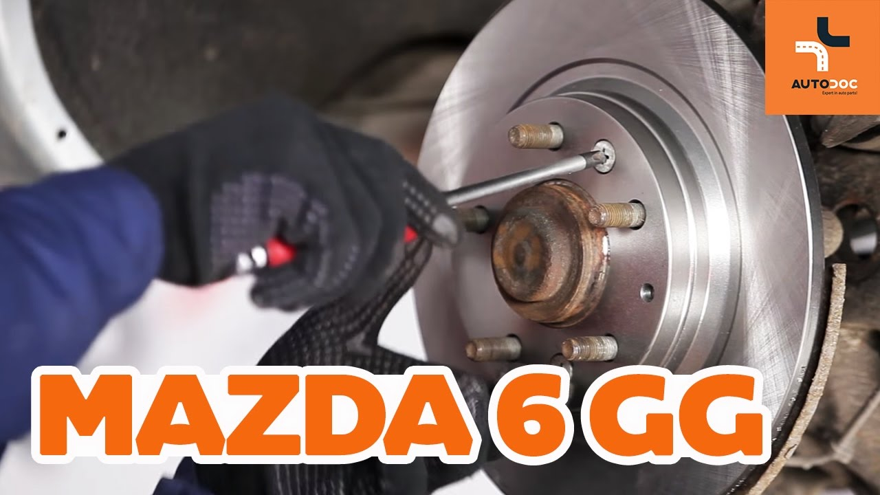 Ate balatas delantero Mazda 6