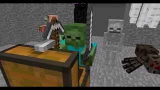 Школа монстров - Minecraft(Видео о созданной в Minecraft школе монстров., 2013-06-28T09:25:34.000Z)