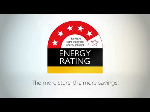 The Energy Rating Label - save energy, save money, save emissions