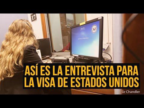 ¿Qué preguntan en la entrevista para la VISA de Estados Unidos?
