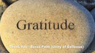11-22-20 Gratitude Sunday