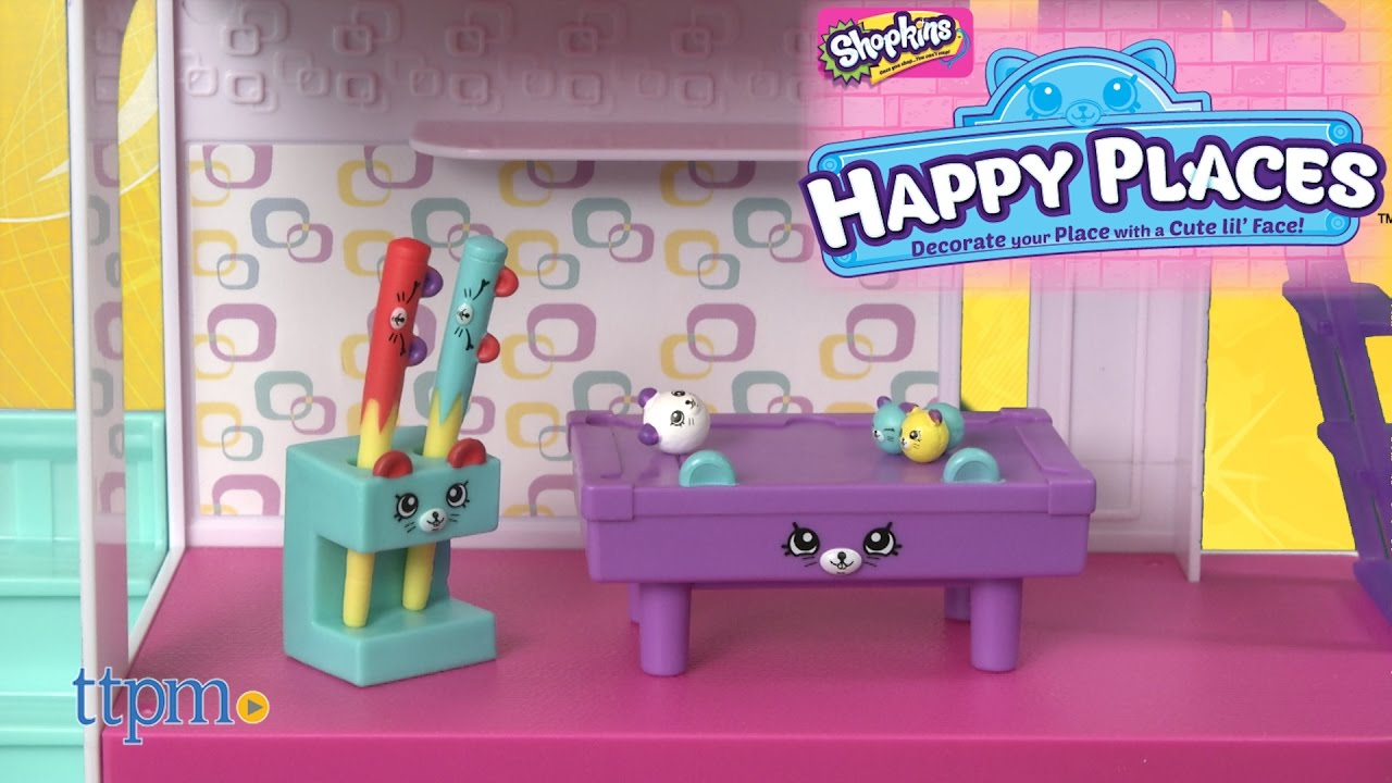 Shopkins Happy Places Happy Home Games Room Laundry