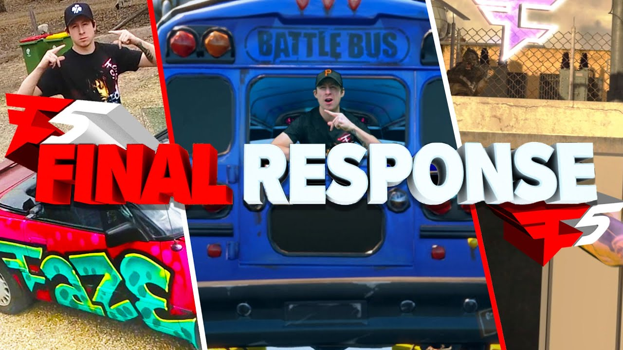My Official #FaZe5 Response - Mario