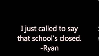 School Closing Messages in Song
