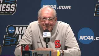 Jim Boeheim | NCAA 1st Round Press Conference