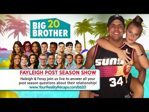 #BB20 POST SEASON INTERVIEW: Fayleigh Couples Show!