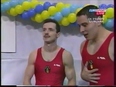 Marius URZICA (ROM) HB - 2004 Europeans Ljubljana Team