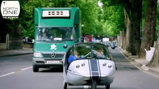 Richard Ayoade & John Humphrys test transport tech: Gadget Man S02E02