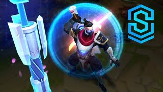 Pulsefire Shen Skin Spotlight - Pre-Release - League of Legends