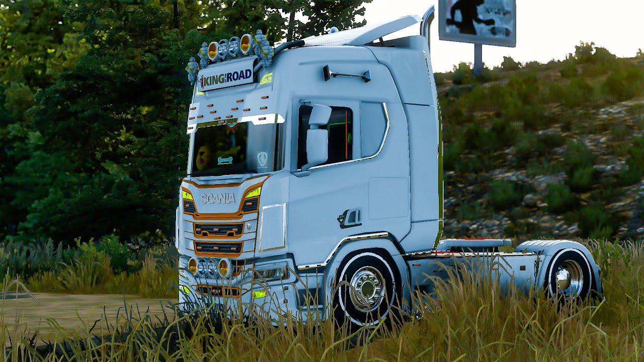 Scania(Vabis) R Modifiyesi | Euro Truck Simulator 2 | 1.40