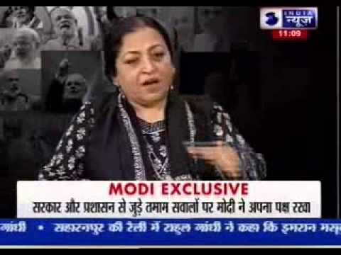 Watch unseen aspects of Modi's life Exclusive on India News - PART TWO