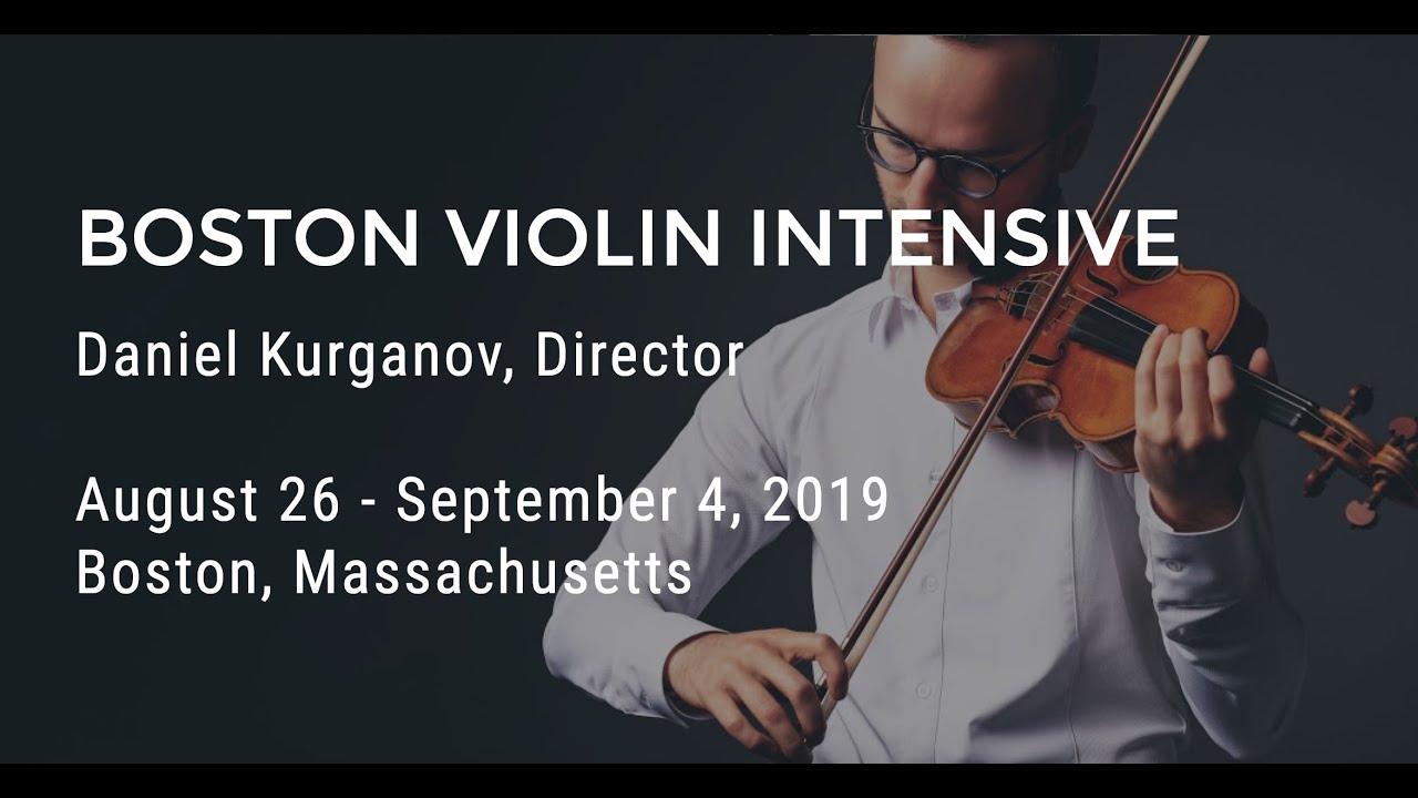 Boston Violin Intensive