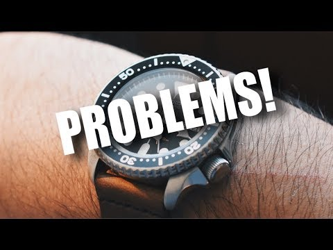 PROBLEMS WITH THE SEIKO SKX