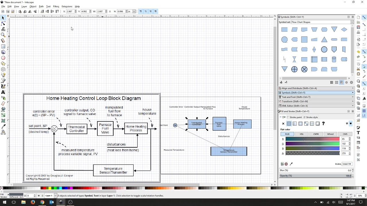 Inkscape basic flow charts youtube inkscape basic flow charts ccuart Gallery