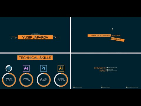 Portfolio Presentation | After Effects template