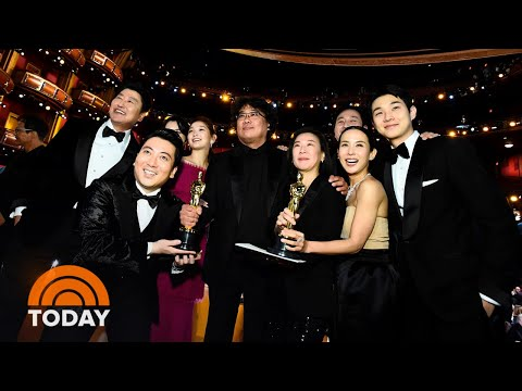 'Parasite' Becomes First Foreign-Language Film To Win Best Picture Oscar | TODAY