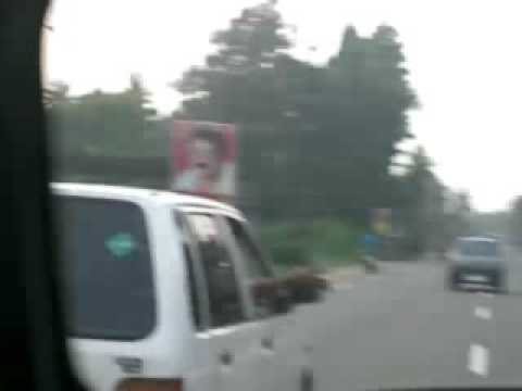 Chasing a Maruti on the NH47