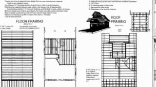 Plan #221 24' X 32' Custom Cabin Design