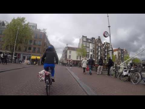 Netherlands Bicycle Tour 2017 Day 1 - Amsterdam to Haarlem