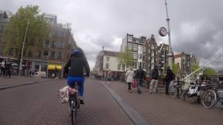 Netherlands Bicycle Tour 2017 Day 1 - Amsterdam to Haarlem thumbnail