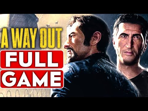 A WAY OUT Gameplay Walkthrough Part 1 FULL GAME [1080p HD Xbox One X] - No Commentary