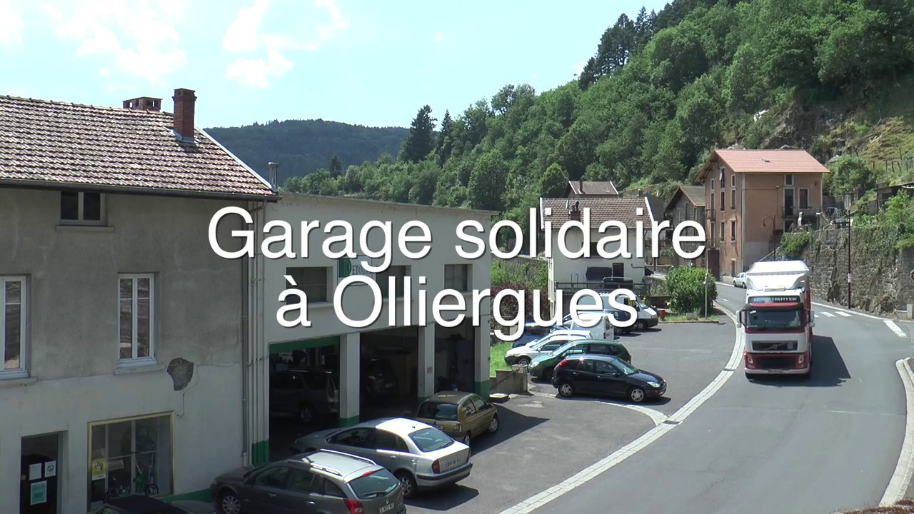Garage solidaire olliergues youtube for Garage solidaire calais