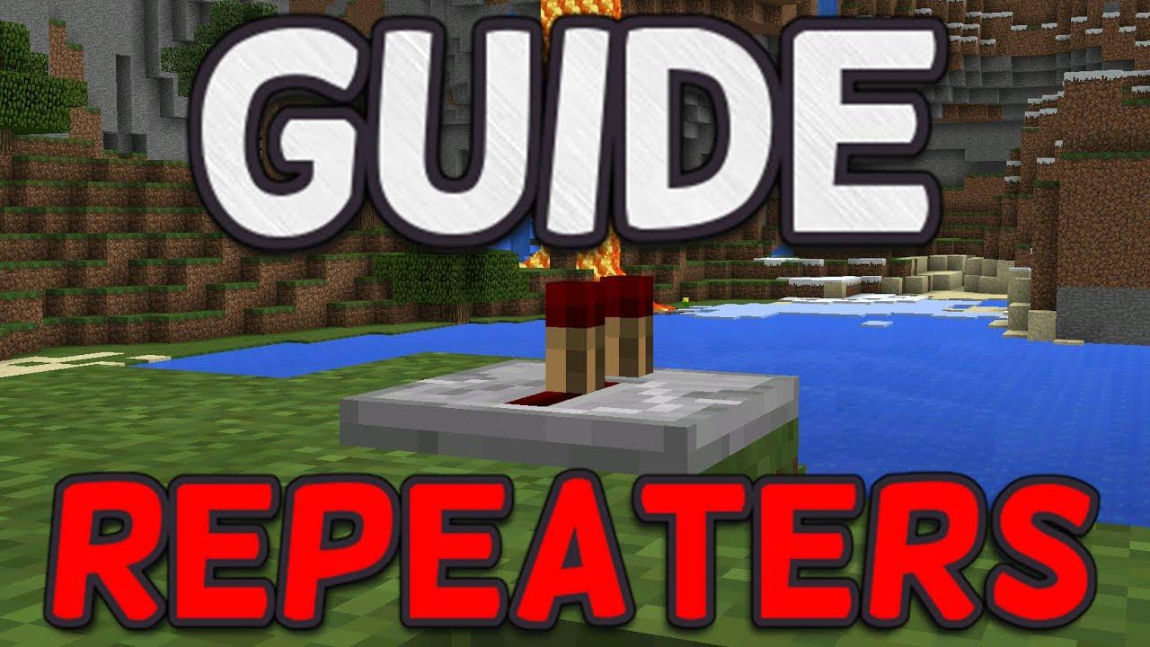 minecraft redstone guide pe