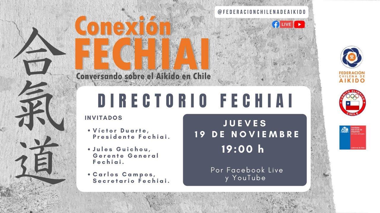 Conexión Fechiai, conversando sobre el Aikido en Chile / Directorio