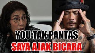 Debat Panas dengan Jerinx SID, Menteri Susi You Tak Pantas Saya Ajak Bicara
