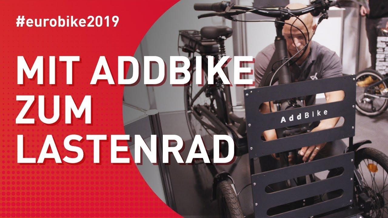 Mit Addbike zum Lastenrad